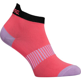 Salming Salm Performance Ankle Socks 3-Pack Coral/Mixed